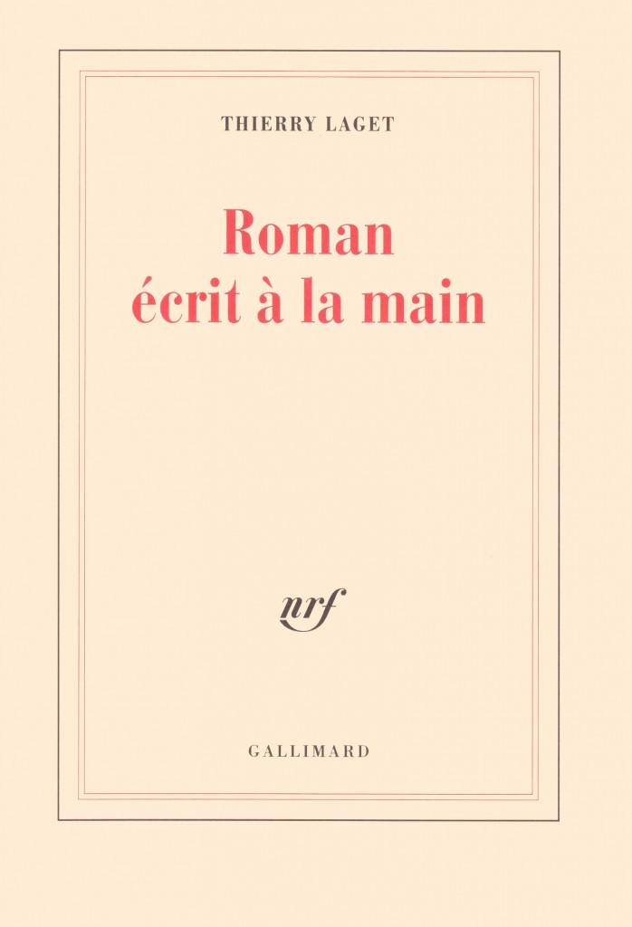 Roman écrit à la main